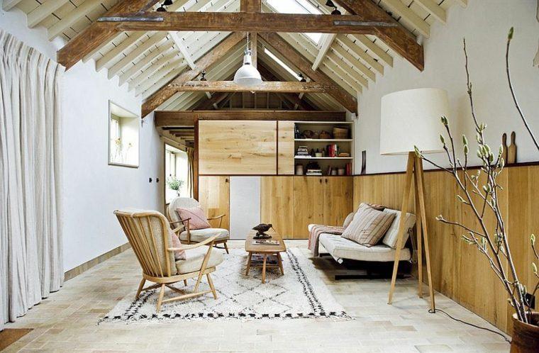 déco intérieur salons design scandinave meubles blancs