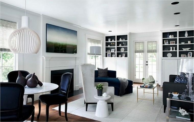 intérieur scandinave meubles blancs design salon