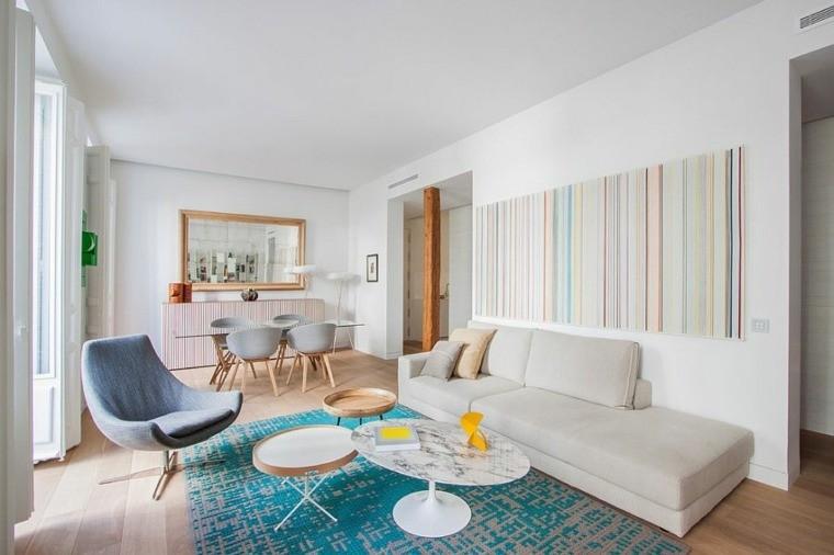 idées deco intérieur salon meubles tapis scanidnave
