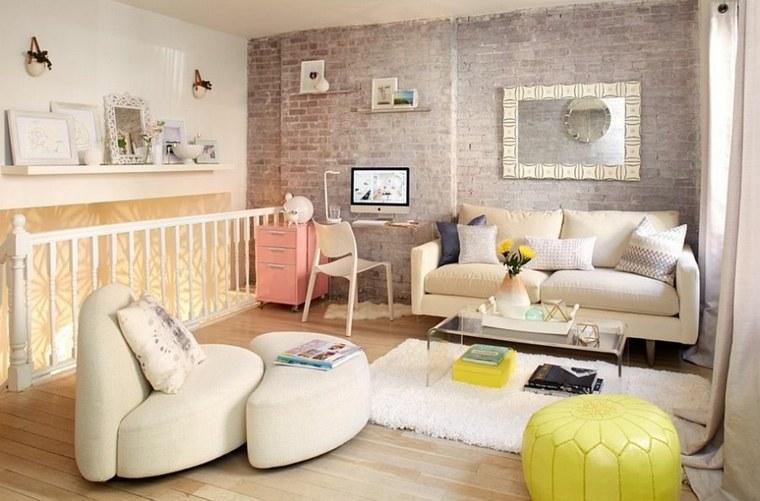 ideés aménagement salon déco scandinave mobilier design