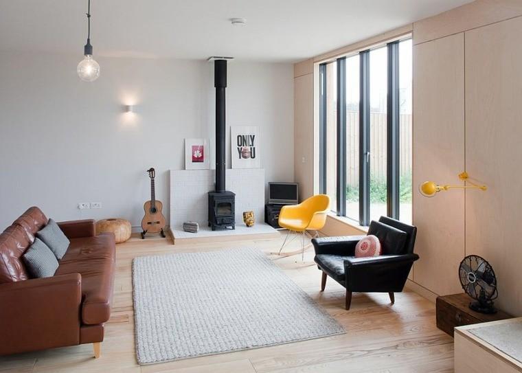 décoration intérieur style scandinave mobilier eclectique
