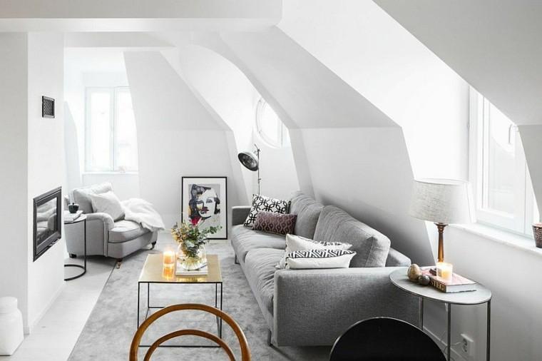 idee décoration salon style nordique petits espaces meuble scandinave