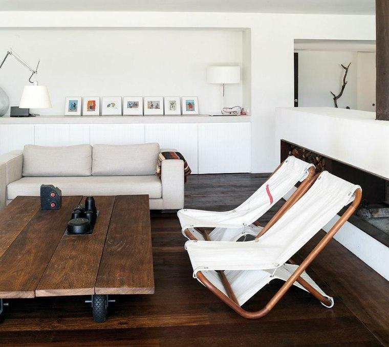 idée déco salon scandinaves tables chaise originale