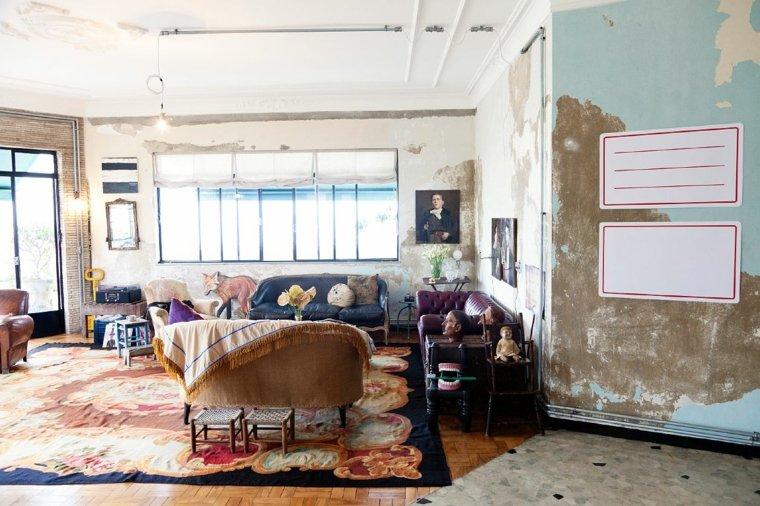 accessoires salon design rétro déco murale