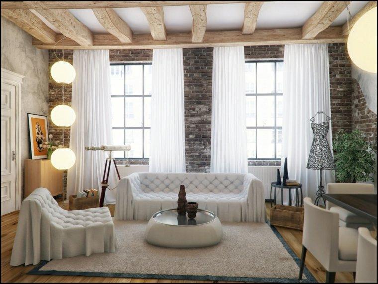 belle déco salon design contemporain