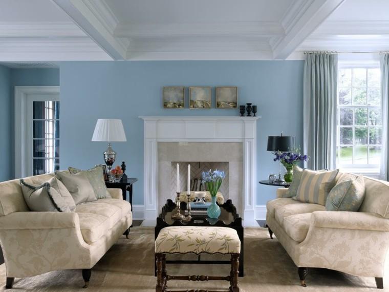couleur pastel salles de sejour peindre