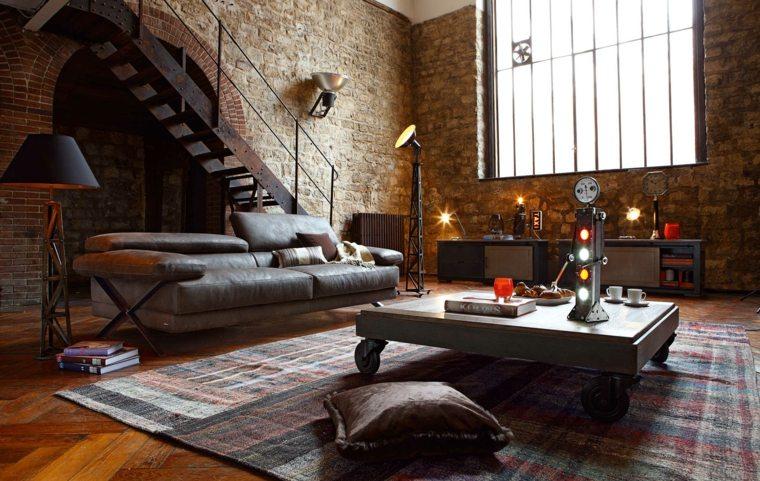 couleur tendance salon design industriel