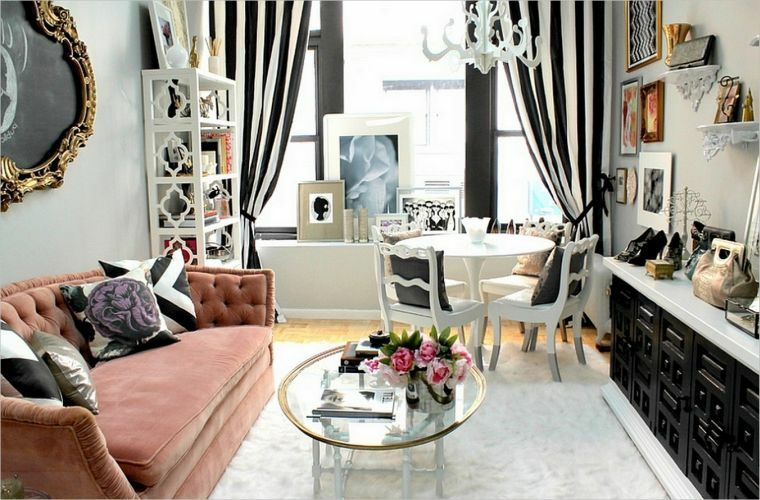 couleur peinture décor intérieur salons féminins