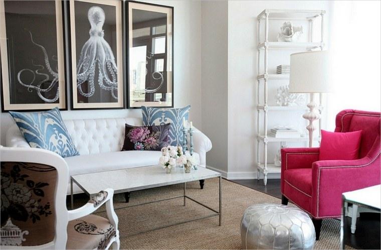 décoration intérieur salon design féminin