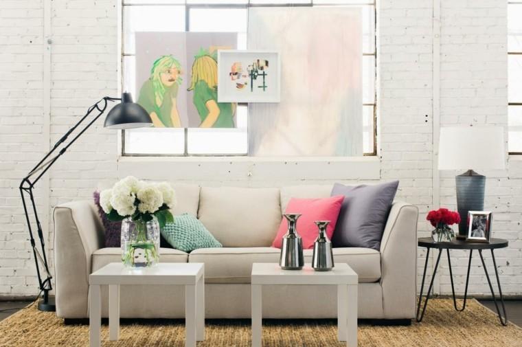 décoration intérieur salon design industriel