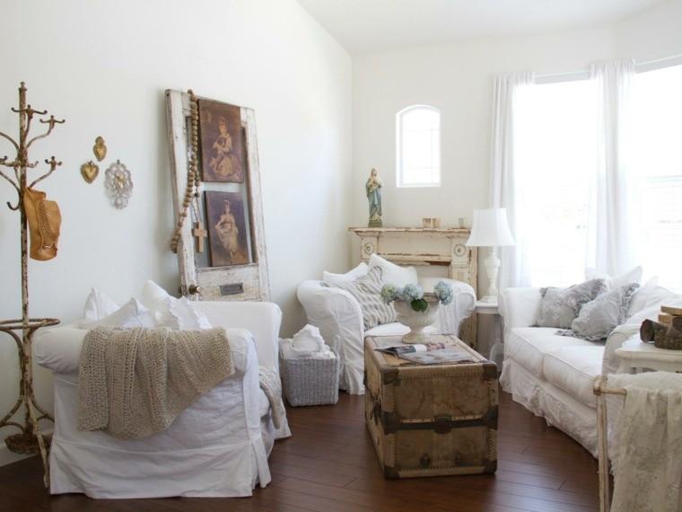 décoration intérieur salon meuble blanc