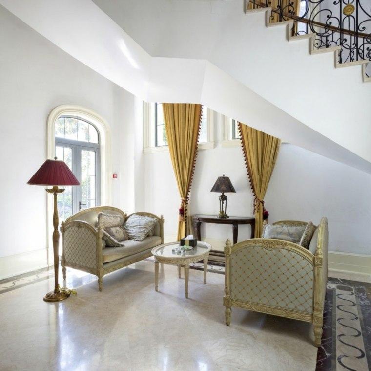 décoration d'intérieur maison salon élégant