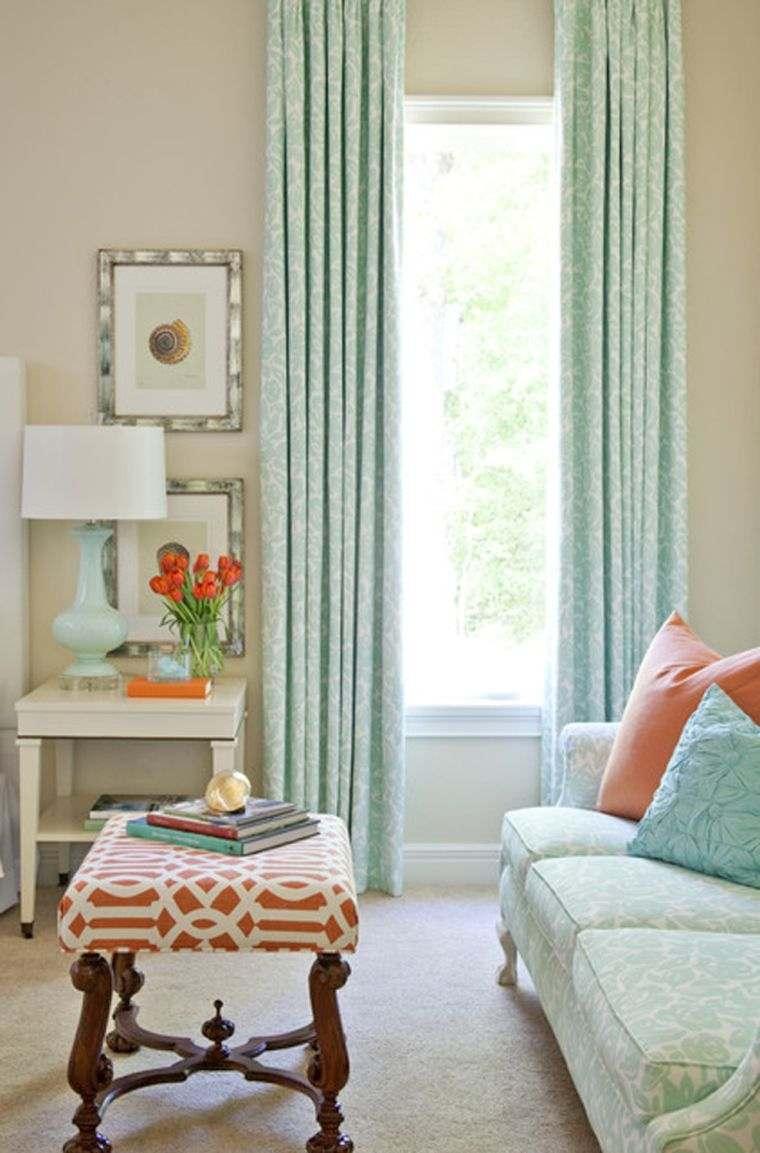 salon décoration couleur pastel