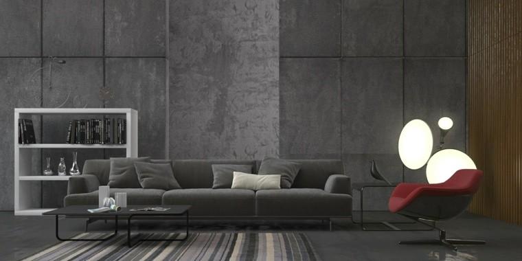 décoration noir salons modernes