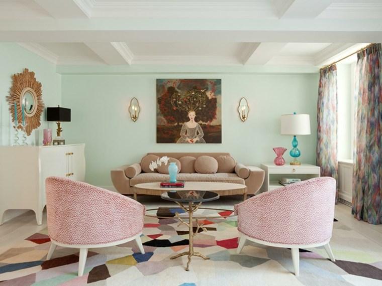 idée couleur repeindre salon peinture