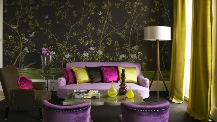 couleur peinture salon décoration intérieure