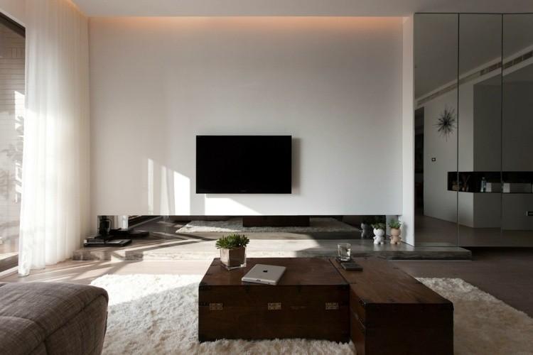 idée deco petit salon minimaliste