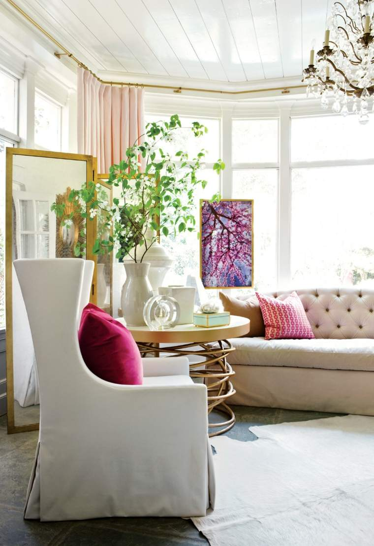 maison décoration salon meuble design féminin