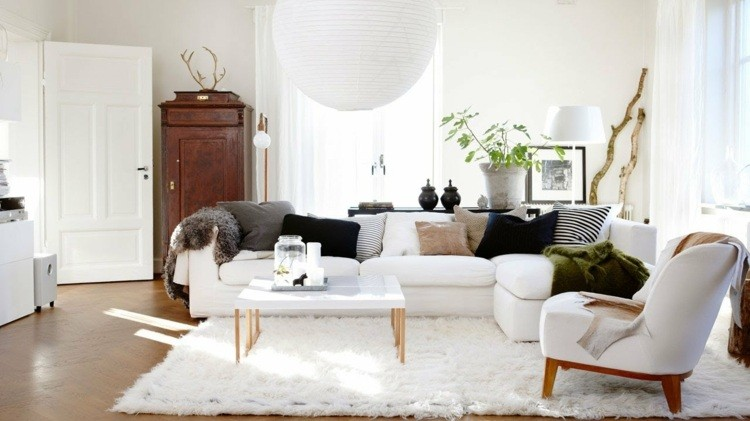 idee deco scandinave salon