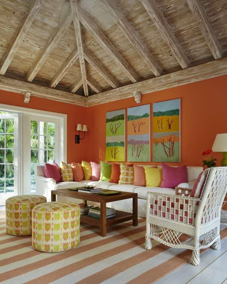 intérieur maison moderne et déco de salon