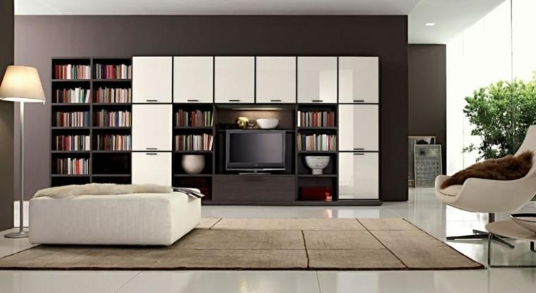 salon palette de couleur fonce meubles clairs