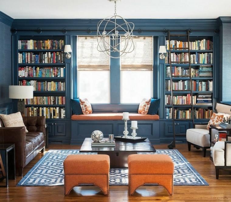 palette de couleurs salons peinture bleu