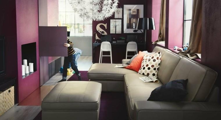 palette de couleur déco petit salon