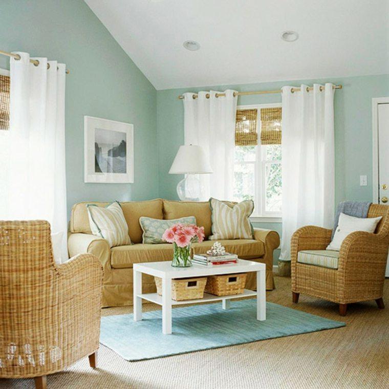 couleur peindre salon pastel