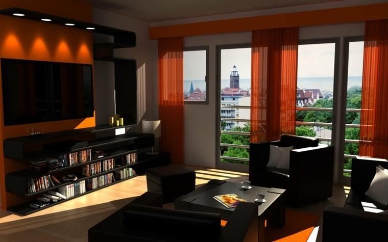 salons modernes palette couleurs