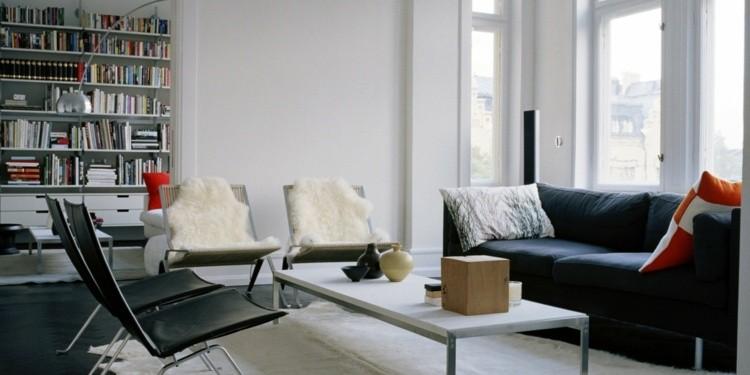 design salle de sejour scandinave