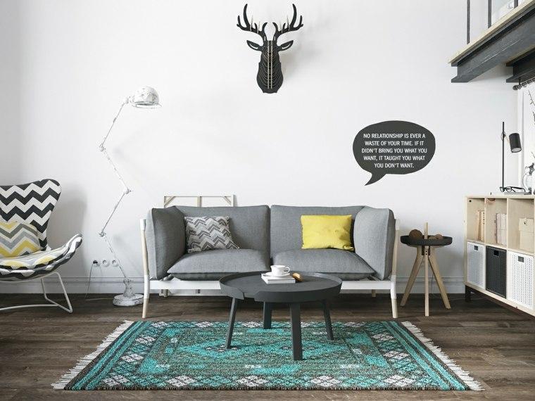idee decoration salon style nordique