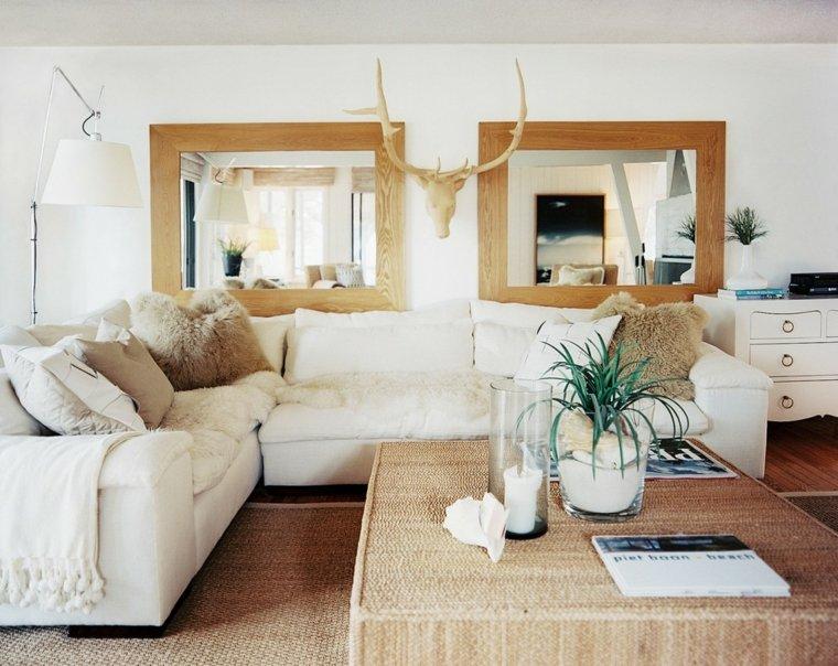 salons décoration scandinave