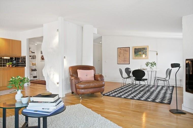 décoration scandinave meubles salon