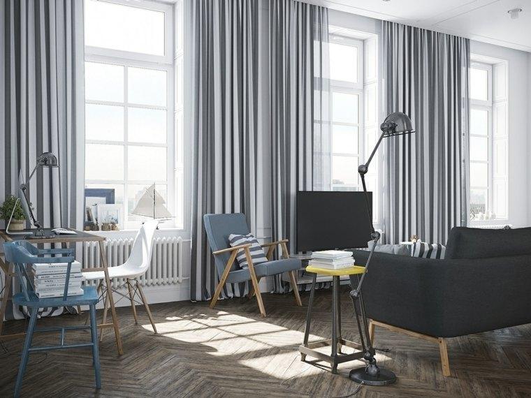 images salons design scandinave