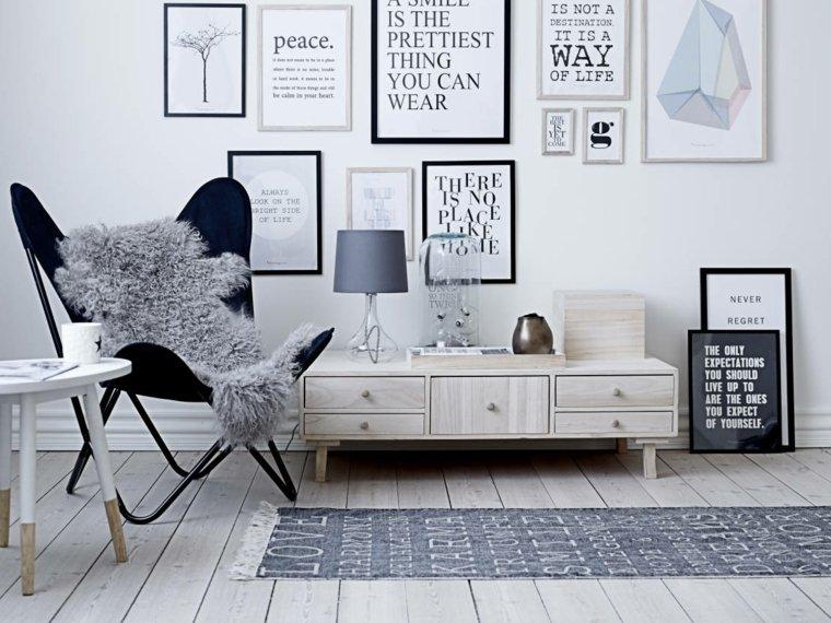 deco scandinave salon fauteuil design