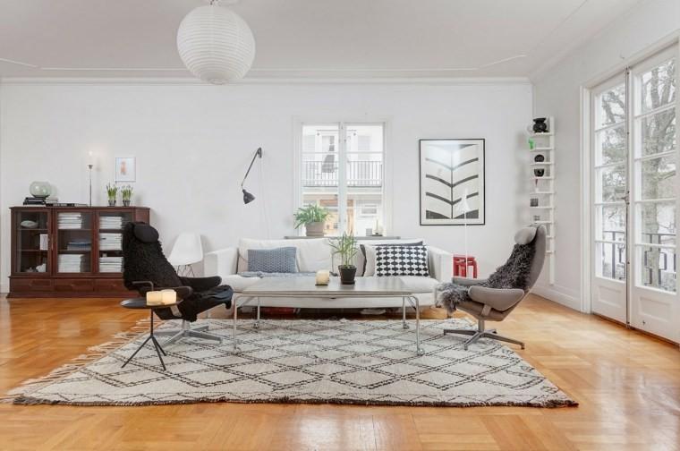 decorations salon design nordique