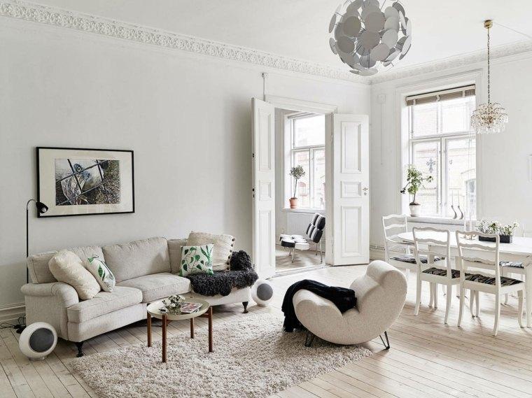 design interieur salon decor nordique