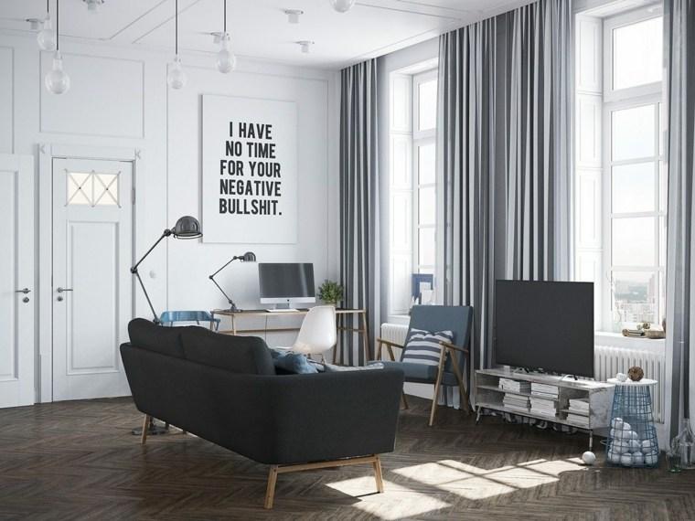 maison salon decoration scandinave