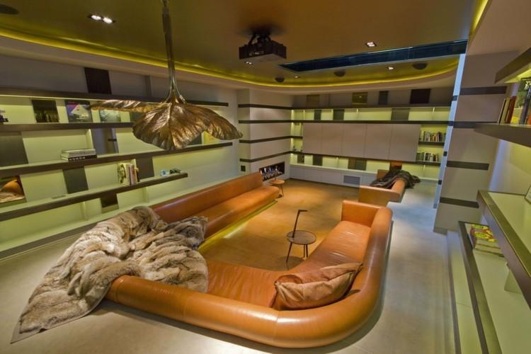 salle de séjour design idee amenagement