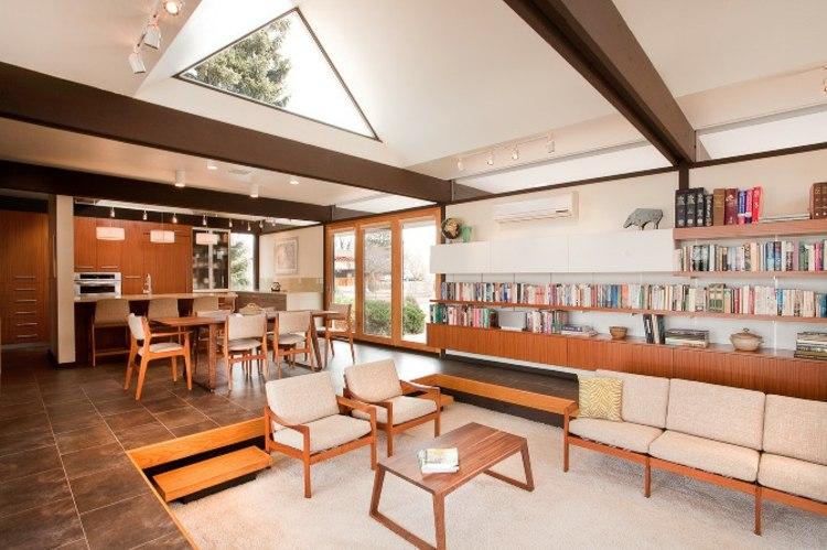 salle de séjour design elegant moderne