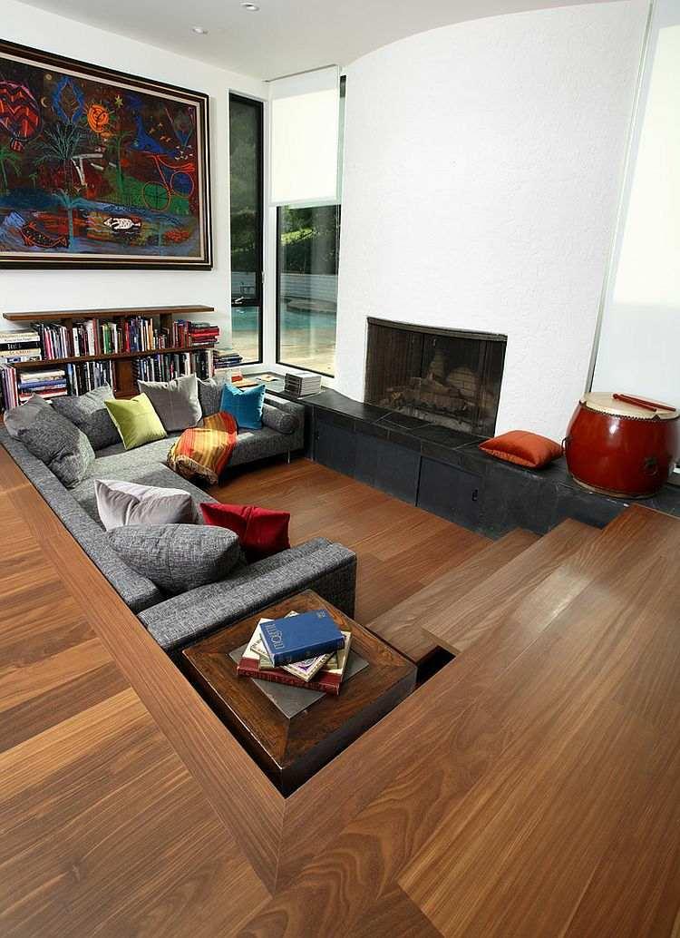 salle de séjour design ouverte