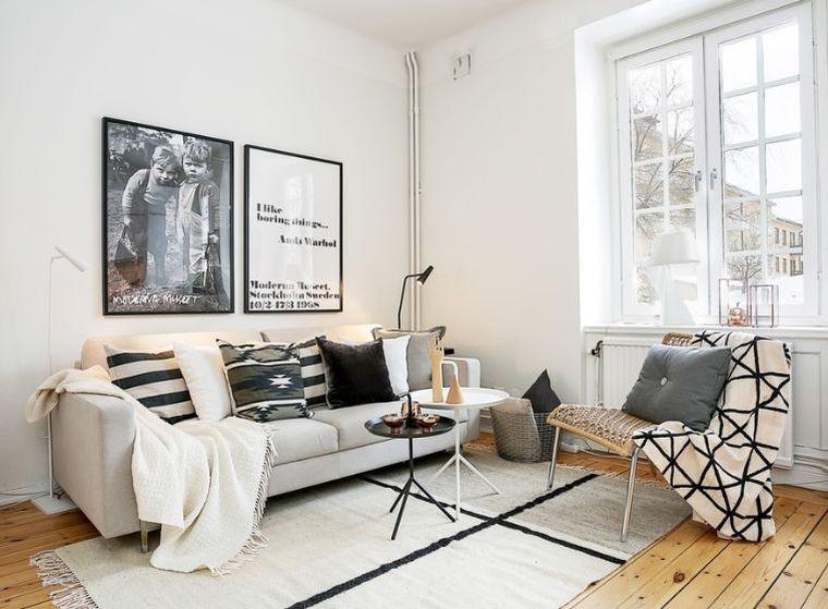 salon déco nordique meubles-scandinaves-palette-de-couleur