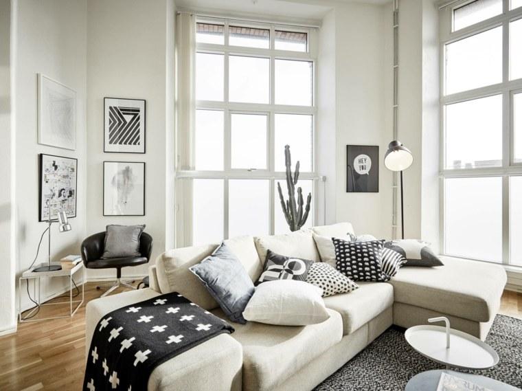 couleurs salon déco scandinave