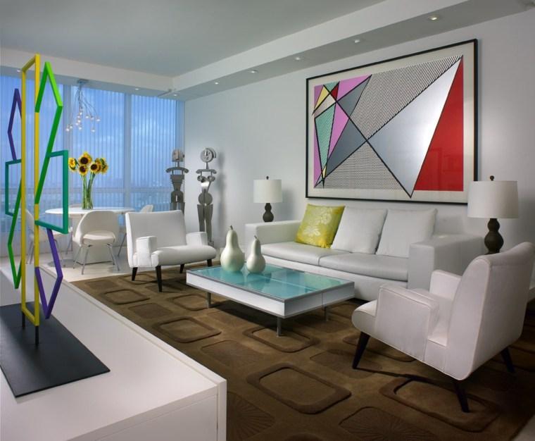 decoration interieur séjour contemporain