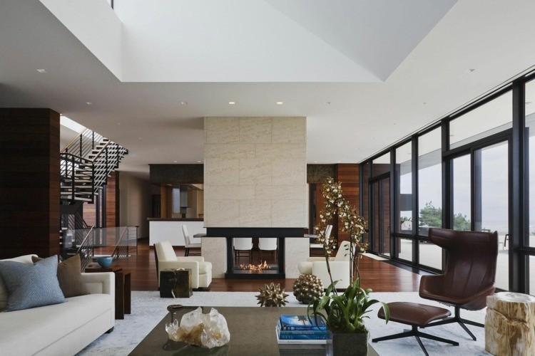 decoration moderne salon elegant
