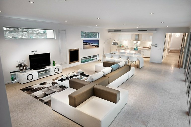 salon design séjour contemporain