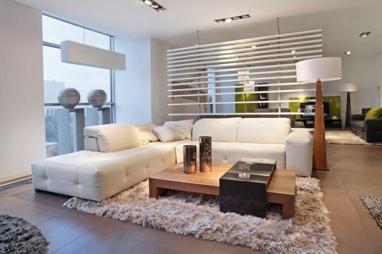 couleur salon blanc interieur design contemporain