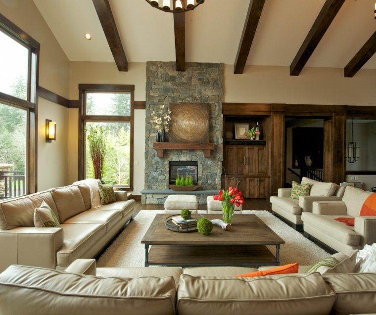 idee séjour contemporain meuble