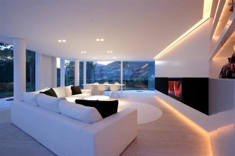 meubles contemporains salle de séjour