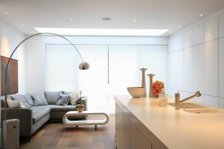 salon meubles contemporains